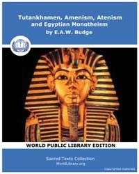 Tutankhamen, Amenism, Atenism and Egypti... by Budge, E.A.W.