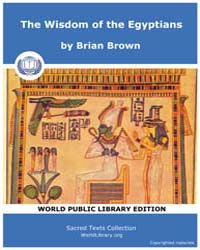 The Wisdom of the Egyptians, Score Egy W... by Brown, Brian