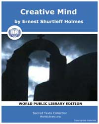 Creative Mind by Holmes, Ernest Shurtleff