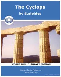 The Cyclops, Score Eurip Cyclops by Euripides