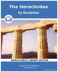 The Heracleidae, Score Eurip Heracl by Euripides