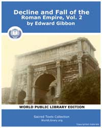Decline and Fall of the Roman Empire, Vo... Volume Vol. 2 by Gibbon, Edward