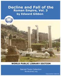 Decline and Fall of the Roman Empire, Vo... Volume 3 by Gibbon, Edward