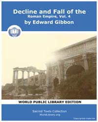 Decline and Fall of the Roman Empire, Vo... Volume 4 by Gibbon, Edward