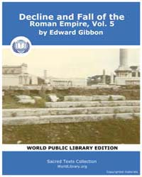 Decline and Fall of the Roman Empire, Vo... Volume 5 by Gibbon, Edward