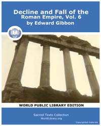Decline and Fall of the Roman Empire, Vo... Volume 6 by Gibbon, Edward