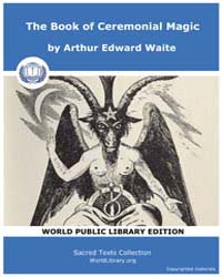 The Book of Ceremonial Magic by Waite, Arthur Edward