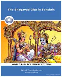 The Bhagavad Gita in Sanskrit, Score Hin... by Sacred Texts