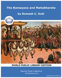 The Ramayana and Mahabharata, Score Hin ... by Dutt, Romesh C.