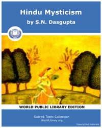 Hindu Mysticism, Score Hin Hm by Dasgupta, S. N.