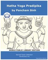 Hatha Yoga Pradipika, Score Hin Hyp by Sinh, Pancham