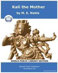 Kali the Mother, Score Hin Ktm by Noble, M. E.