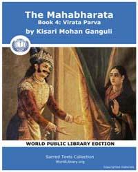 The Mahabharata Book 4 : Virata Parva, S... by Ganguli, Kisari Mohan