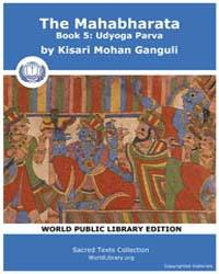 The Mahabharata Book 5 : Udyoga Parva, S... by Ganguli, Kisari Mohan