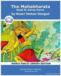 The Mahabharata Book 8 : Karna Parva, Sc... by Ganguli, Kisari Mohan
