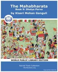 The Mahabharata Book 9 : Shalya Parva, S... by Ganguli, Kisari Mohan