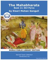 The Mahabharata, Book 11: Stri Parva by Ganguli, Kisari Mohan