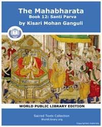 The Mahabharata, Book 12: Santi Parva by Ganguli, Kisari Mohan