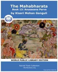 The Mahabharata Book 13 : Anusasana Parv... by Ganguli, Kisari Mohan