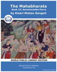 The Mahabharata Book 15 : Asramavasika P... by Ganguli, Kisari Mohan