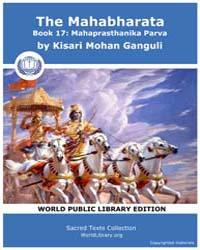The Mahabharata Book 17 : Mahaprasthanik... by Ganguli, Kisari Mohan