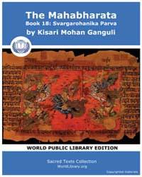 The Mahabharata, Book 18: Svargarohanika... by Ganguli, Kisari Mohan