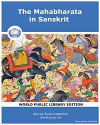 The Mahabharata in Sanskrit, Score Hin M... by Sacred Texts