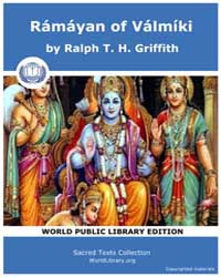 Rámáyan of Válmíki, Score Hin Rama by Griffith, Ralph T. H.