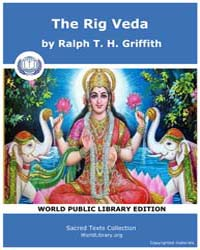 The Rig Veda by Griffith, Ralph T. H.