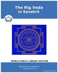 The Rig Veda in Sanskrit, Score Hin Rvsa... by Sacred Texts