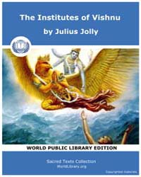 The Institutes of Vishnu Volume Vol. 7 by Jolly, Julius