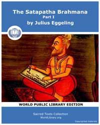Satapatha Brahmana, Part 1, Score Hin Sb... by Eggeling, Julius