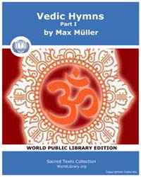 Vedic Hymns, Part I, Score Hin Sbe32 by Müller, Max