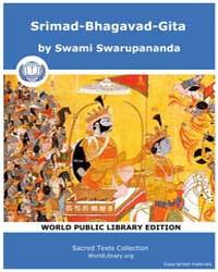 Srimad-Bhagavad-Gita by Swarupananda, Swami