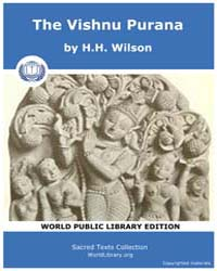 The Vishnu Purana by Wilson, H. H.