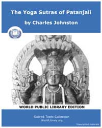 The Yoga Sutras of Patanjali, Score Hin ... by Johnston, Charles