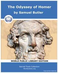 The Odyssey of Homer by Butler, Samuel