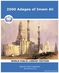 2500 Adages of Imam Ali by