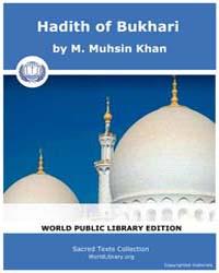 Hadith of Bukhari by Khan, M. Muhsin