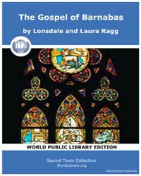 The Gospel of Barnabas, Score Gbar by Laura Ragg, Lonsdale and