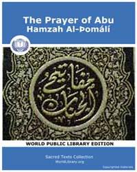 The Prayer of Abu, Hamzah Al-þomálí, Sco... by Sacred Texts