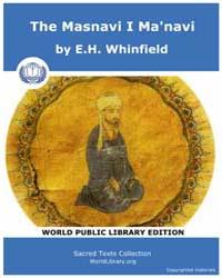 The Masnavi I Ma'navi by Whinfield, E. H.