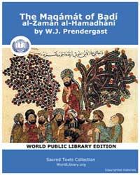 The Maqámát of Badí Al-zamán Al-hamadhán... by Prendergast, W. J.