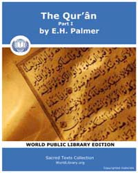 The Qur'ân, Part I Volume Vol.6 by