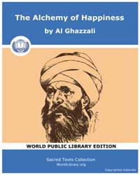 The Alchemy of Happiness, Score Tah by Ghazzali, Al