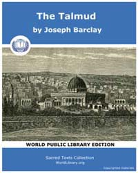 The Talmud by Barclay, Joseph
