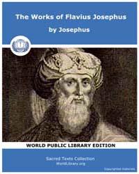 The Works of Flavius Josephus, Score Jud... by Josephus