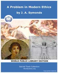 A Problem in Modern Ethics, Score Lgbt P... by Symonds, J. A.