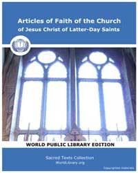 Articles of Faith of the Church of Jesus... by