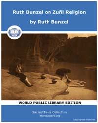 Ruth Bunzel on Zuñi Religion by Bunzel, Ruth